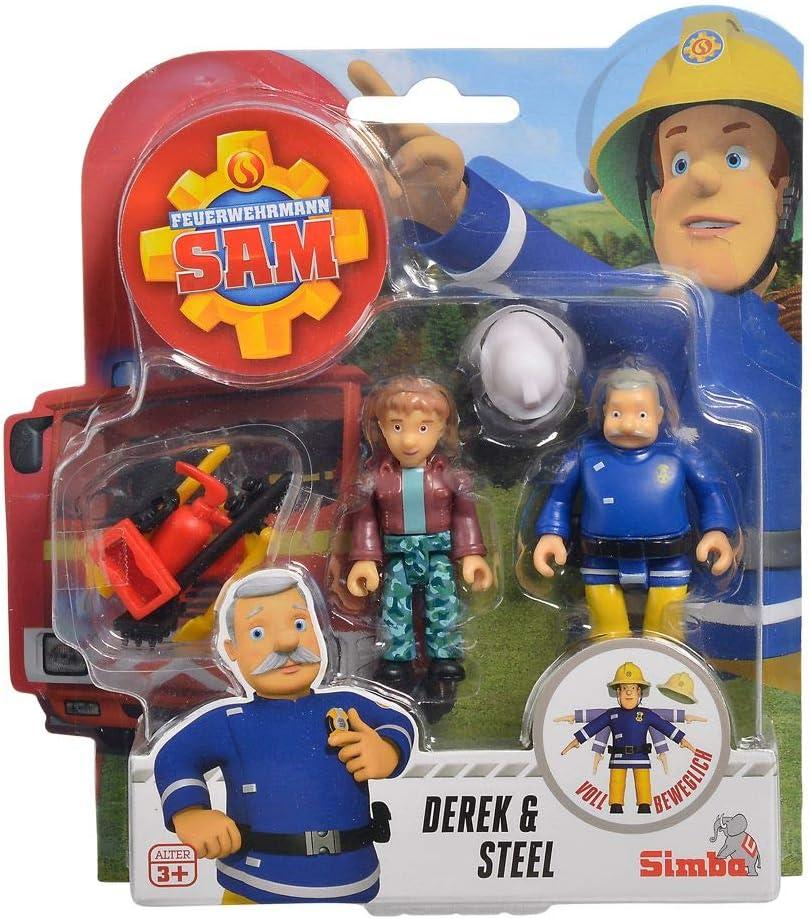 Sam /& ArnoldFeuerwehrmann SamSpiel Figuren SetSimba Toys