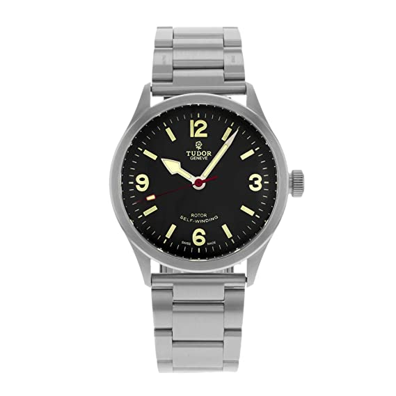 bd19ec99b95 Tudor Heritage Ranger 79910-95760 Black Dial Stainless Steel Automatic  Men's Watch (Certified Pre-owned): Tudor: Amazon.ca: Watches