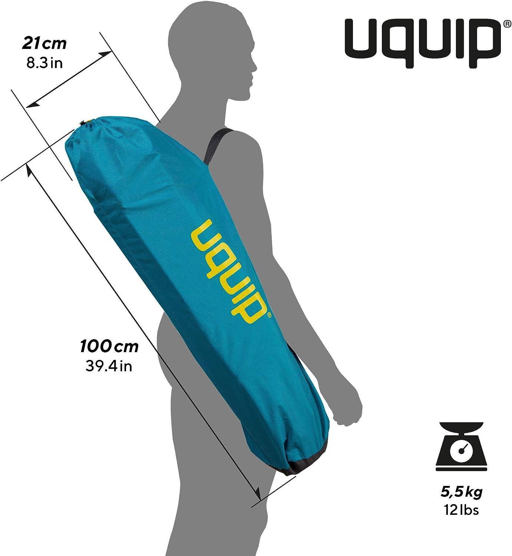 Silla Colgante con Soporte Tama/ño en Estuche peque/ño Capacidad de Carga hasta 120 Kg Peso Ligero Uquip Rocky Silla de Camping