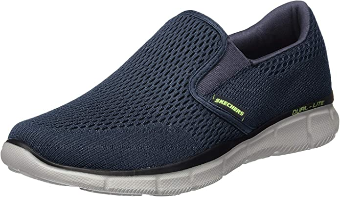 Skechers Equalizer Double Play Sneakers Herren Marineblau (Navy)