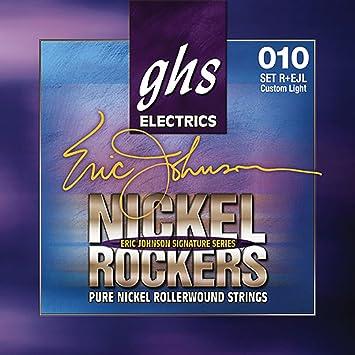 ghs REJL - Juego de cuerdas para guitarra eléctrica, 010-050: Amazon.es: Instrumentos musicales