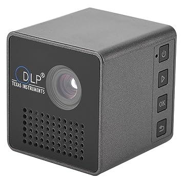 Eboxer Mini DLP Proyector portátil, LED Proyector de Bolsillo de ...