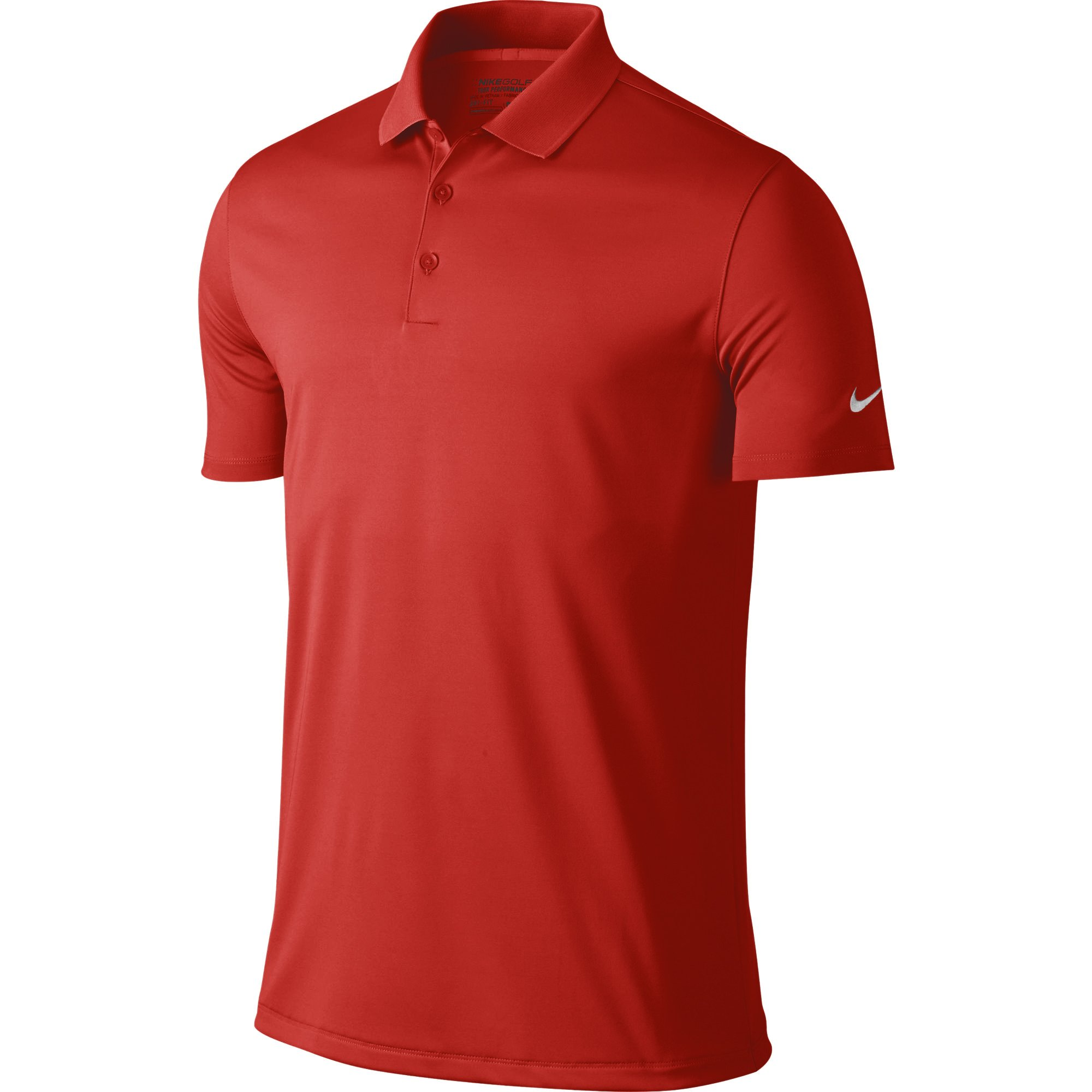 NIKE Men's Dry Victory Polo, University Red/White, XX-Large by Nike