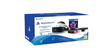 PlayStation 4 Virtual Reality + Camera + Move Twin Pack + VR Worlds - Amazon Argentina
