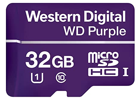 Western Digital Purple Memoria Flash 32 GB MicroSDHC Class ...