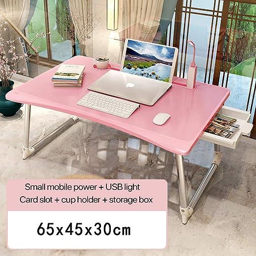 Mesa de Cama Ajustable, Escritorio portátil de pie para Ordenador ...