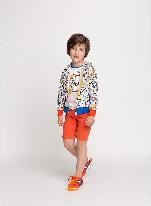 Billybandit Short Chino en Twill de Coton Enfant