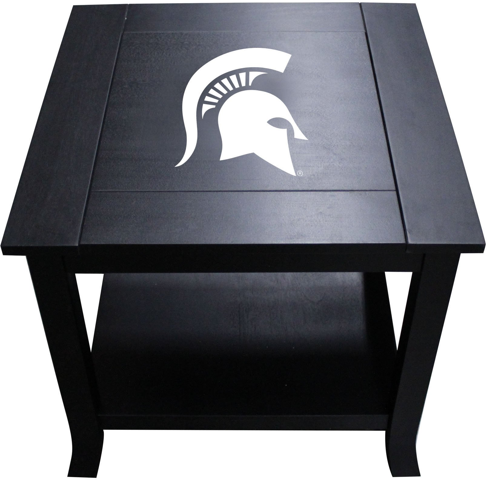 Imperial Officially Licensed NCAA Furniture: Hardwood Side/End Table, Michigan State Spartans by Imperial