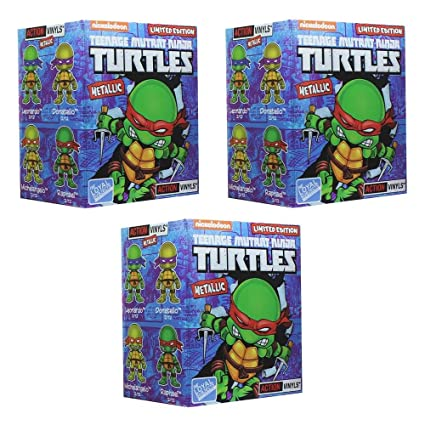 Teenage Mutant Ninja Turtles Blind Box Metallic Action ...