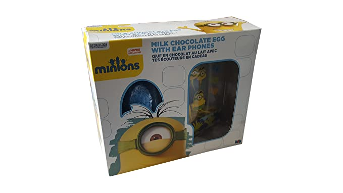 Minions easter egg gift set with ear phones amazon grocery minions easter egg gift set with ear phones negle Images