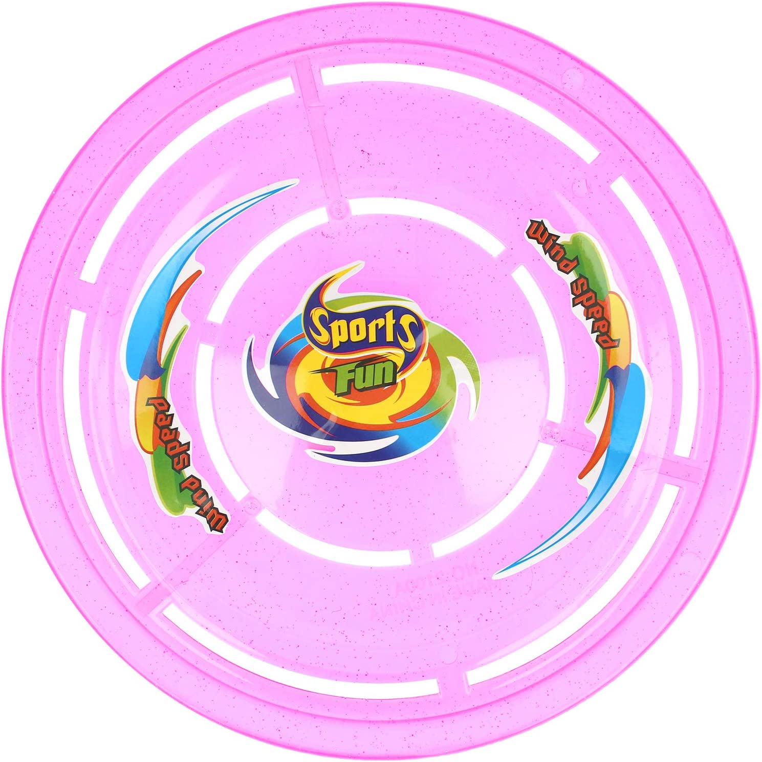 04 pieces - coloured Discus also for dogs Flying target in four colours com-four/® 4x Frisbee for children and adults Frisbee disc to play with