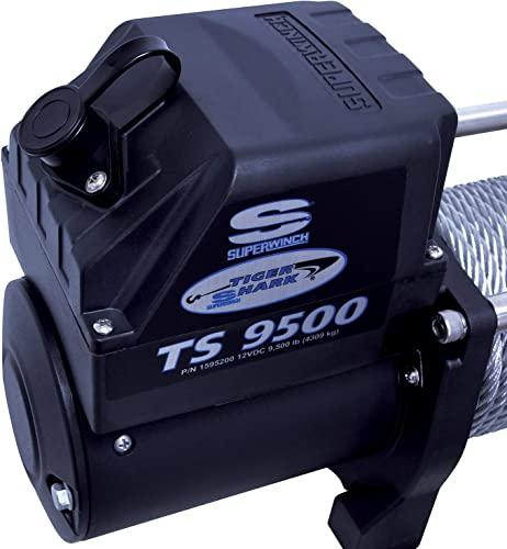 Superwinch 1595200 Tiger Shark 9.5, 12 VDC winch