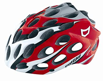 Catlike Whisper Plus - Casco de ciclismo para adulto Red/White/Black Talla: