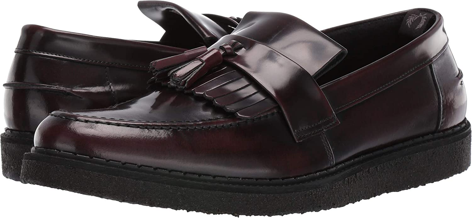 Fred Perry x George Cox Tassel Loafer B8278 158-44: Amazon.es: Zapatos y complementos