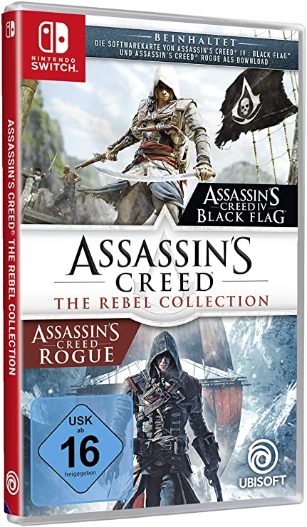 Assassins Creed The Rebel Collection - Nintendo Switch ...