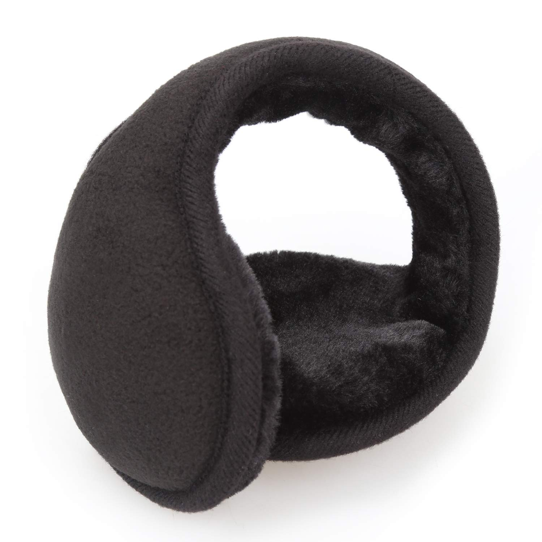 Outdoor Classic Fleece Earmuffs - Collapsible Ear Warmer for Women and Men