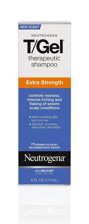 Neutrogena T/Gel Therapeutic Shampoo, Extra Strength, 6 Ounce