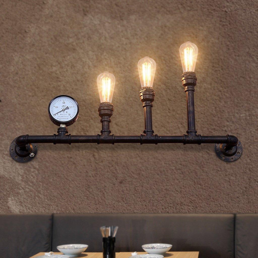Good thing lampada da parete Retro Venti Industriali Creative Creative Iron Walls Lampade da parete Sgabelli da bar Ristorante LOft Decorative Lights