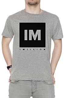 Erido 1 Million Dance Studio Herren T-Shirt Rundhals Grau Kurzarm Alle  Größen Men s Grey e3071431c9