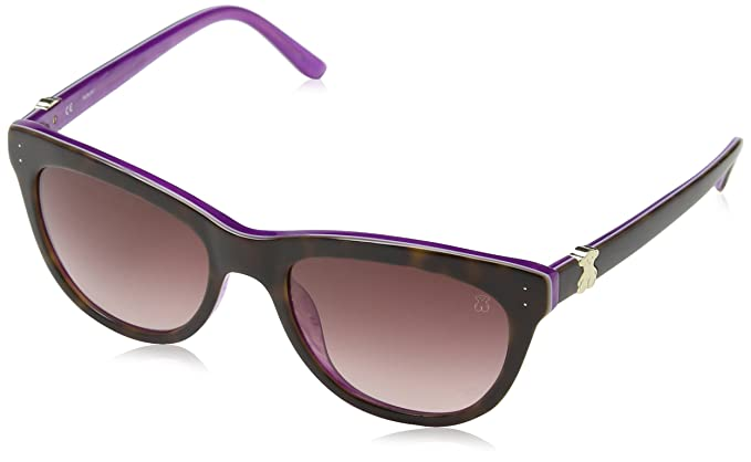 Tous Sto787, Gafas de Sol Para Mujer, Púrpura/Marrón (Shiny Cyclamen Púrpura