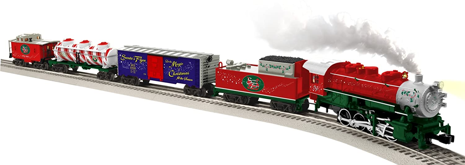 Amazing Amazon.com: Lionel Santau0027s Flyer Ready To Run Train Set   O Gauge: Toys U0026  Games