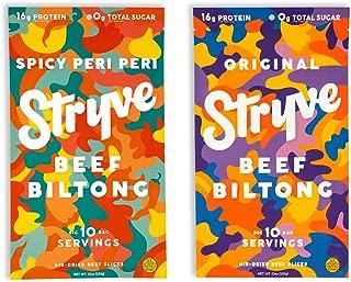 product image for Stryve Beef Biltong Spicy Peri Peri 10oz and Original 10oz Bundle