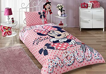 minnie mouse bedding set twin home kitchen