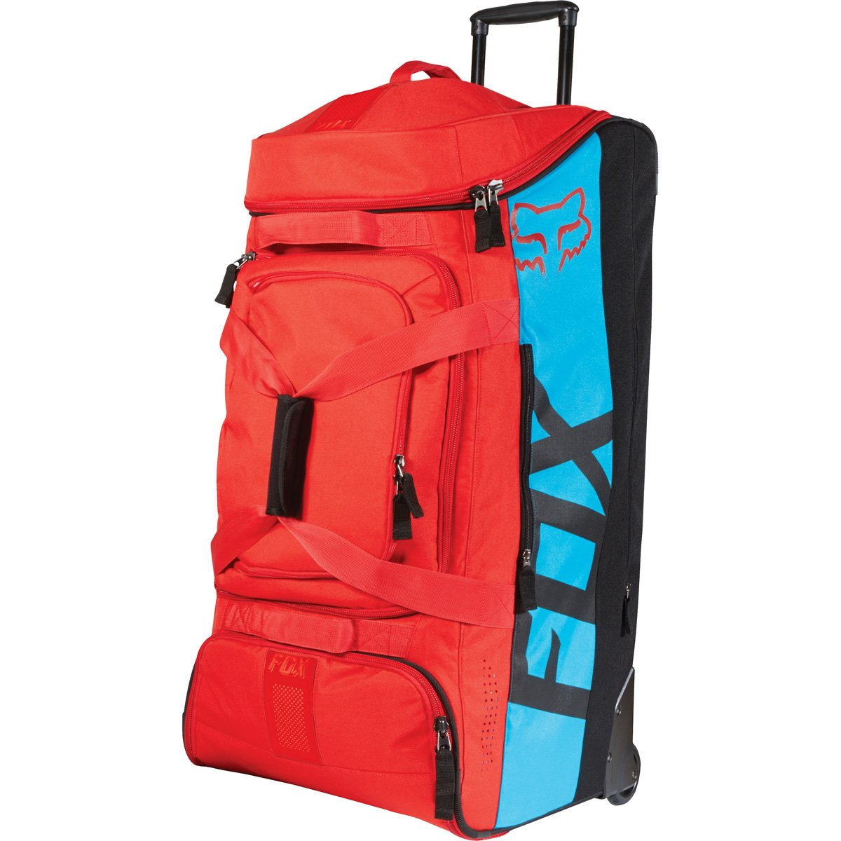 Fox Racing Shuttle Roller Print Sports Gear Bag - Blue/Red / One Size