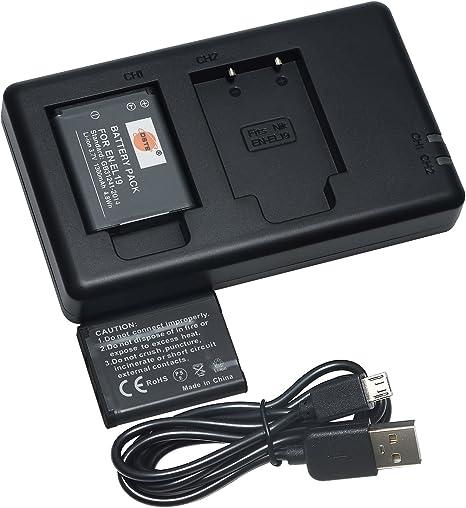 EN-EL19 Cargador de batería para Nikon Coolpix S6600 S6500 S6400 S4150 S4200 S4300