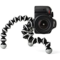 Ceuta Retails Flexible Foldable 13-inch Gorilla Tripod Octopus Stand + Socket Holder Combo for DSLR's, Mobile Camera, Smartphone Use in Photography, Video Recording