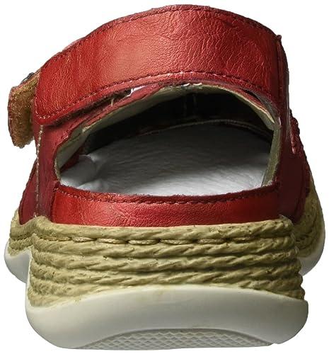 Rieker Damen 46423 Slingback, Rot (Rosso/Rosso/Rot/33), 40 EU