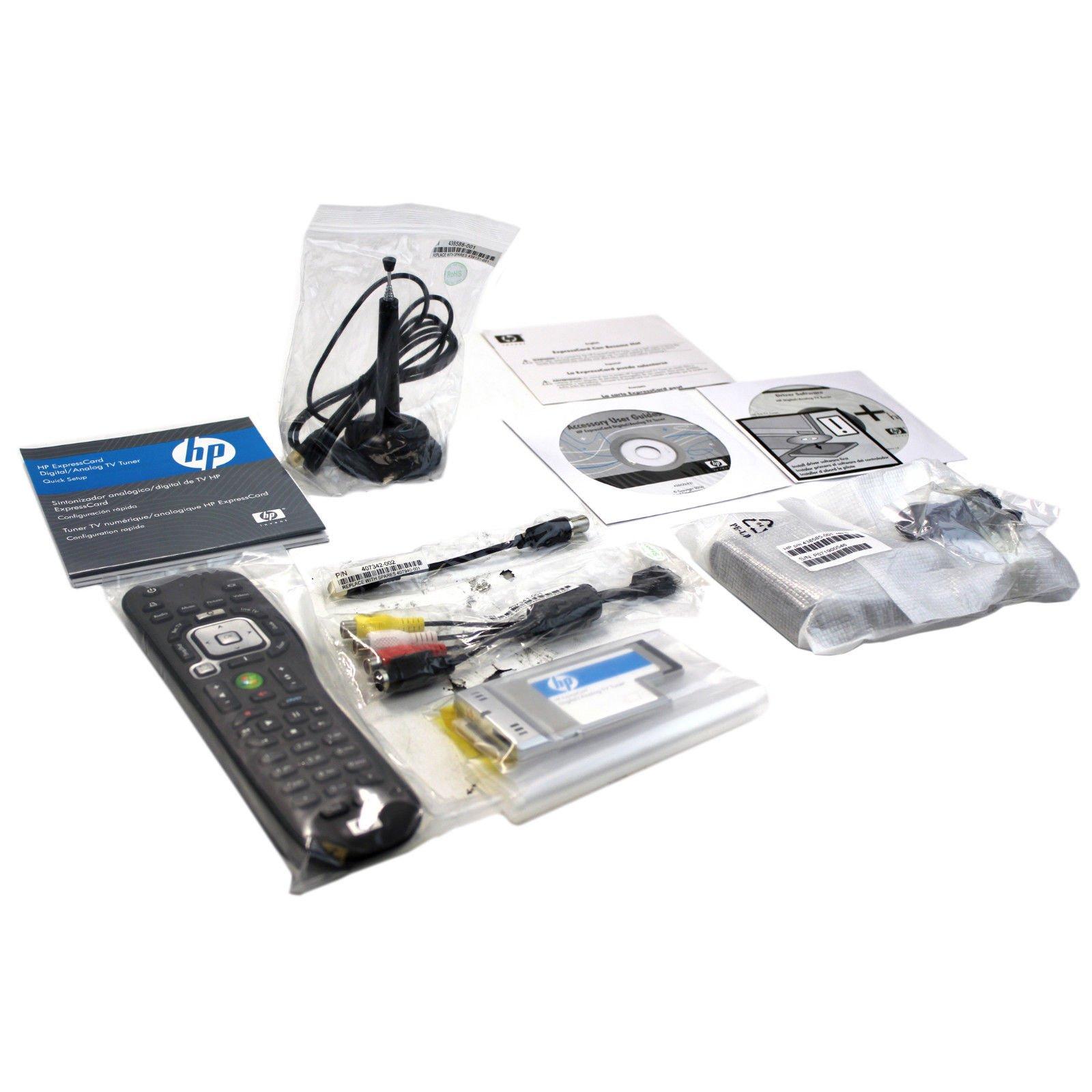 DRIVERS HP EXPRESSCARD TV TUNER