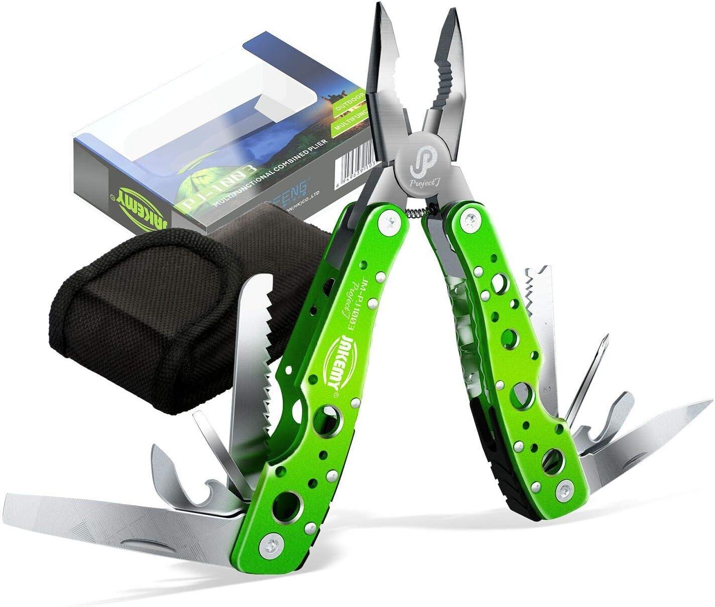 Mini Outdoor Camping Survival Folding Screwdriver Plier Pocket Cutter Multi Tool