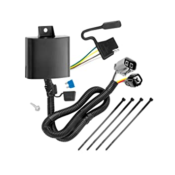 71SrVn%2BjqdL._SY355_ amazon com tekonsha 118269 4 flat tow harness wiring package with wiring harness for flat towing at gsmx.co