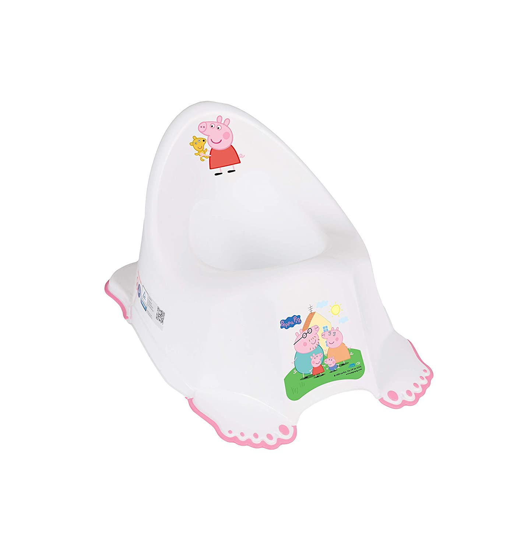 Orinal infantil para entrenar el inodoro Peppa de Schorsch antideslizante seguro T/ÜV rosa ECO Peppa PINK