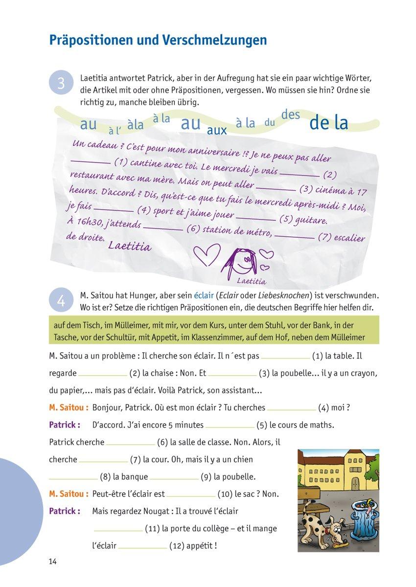Grammatik Training 1 Lernjahr Französisch Alle Wichtigen