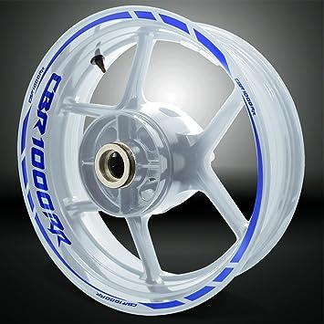 267fdb3200080 Motorcycle   ATV Honda CBR 1000RR Gloss White Motorcycle Rim Wheel Decal  Accessory Sticker Stickman vinyls