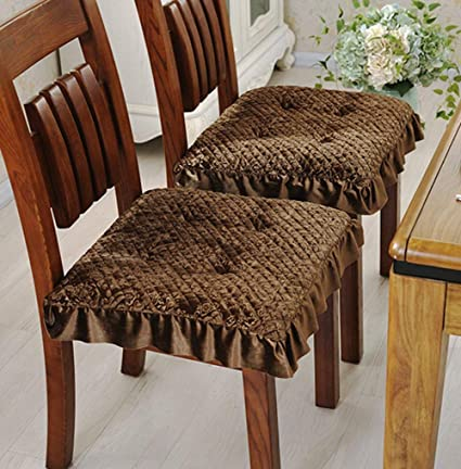 Amazon.com: 4 Pack Soft Memory Foam Nonslip Dining Chair ...