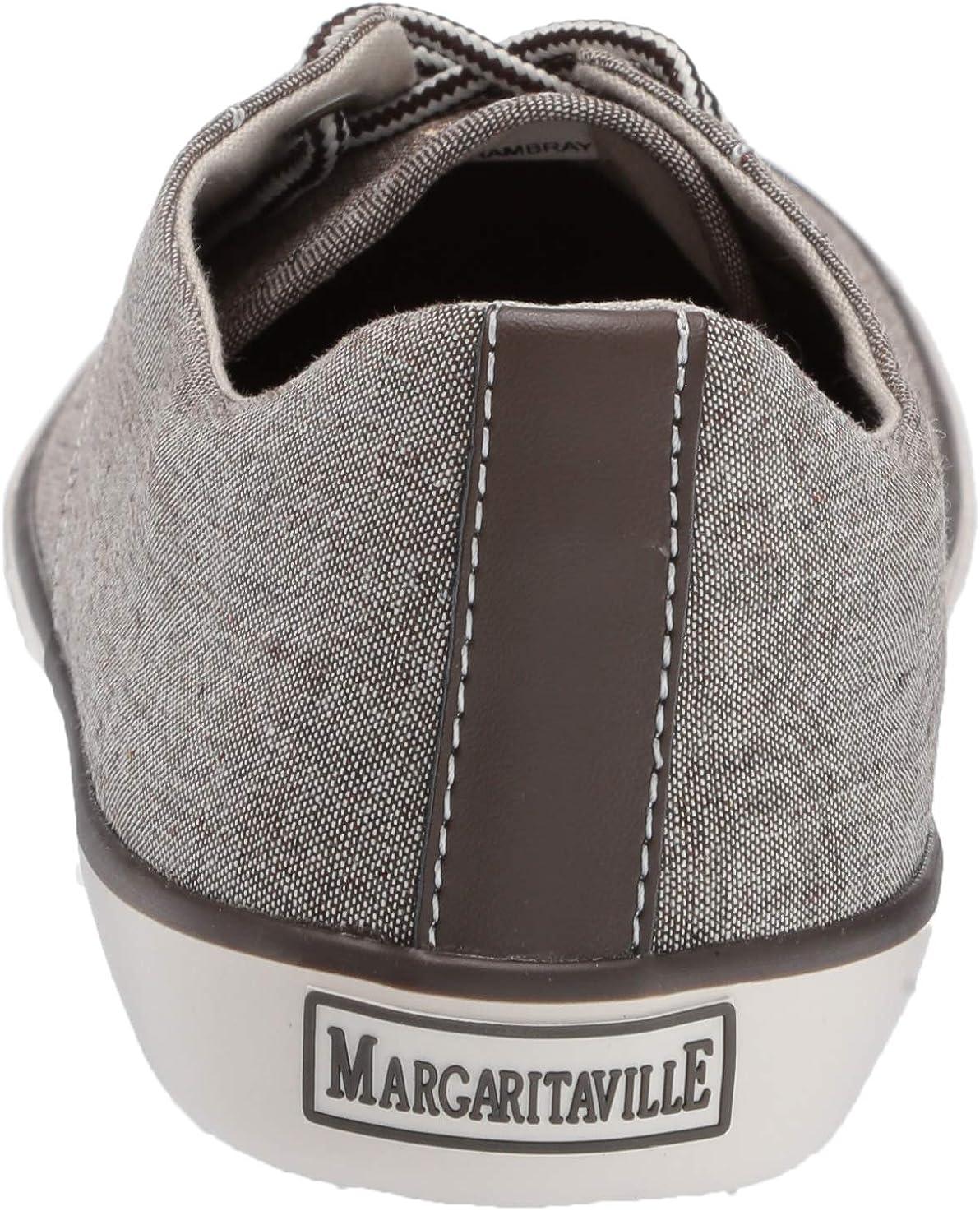 Margaritaville Mens Gustavia Chambray Casual Sneaker