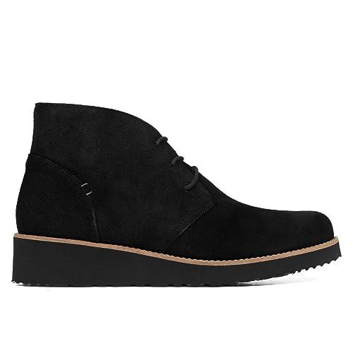 ed668fc31714d Safari - Blucher de Piel cómodo Negro  Amazon.es  Zapatos y complementos