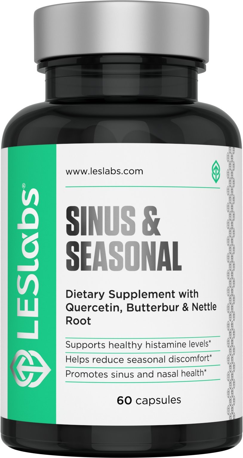 Sinus Seasonal 60 Vegetarian Capsules By Les Labs