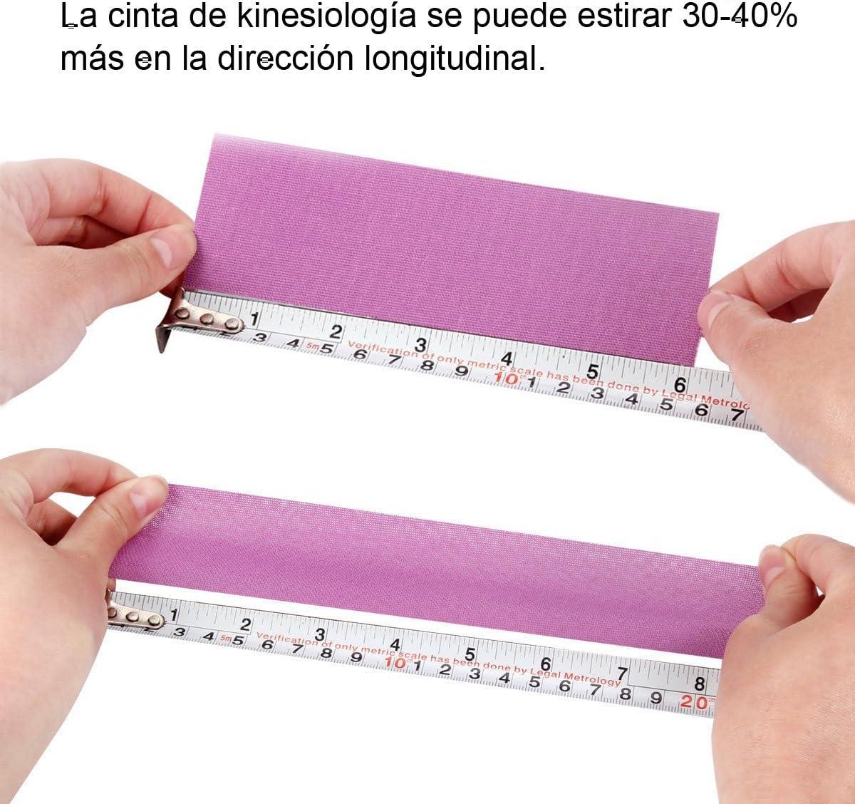 Cinta Kinesiología, Kinesiología Tape, Cinta quinesiológica, cinta ...