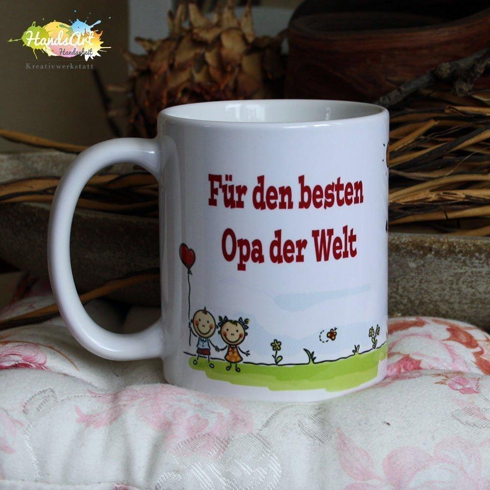 Geschenk Weihnachten Nur die besten Opas werden zum Uropa befördert Tasse
