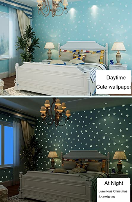 Glow In The Dark Kids Pattern Contact Paper Self Adhesive Non Woven