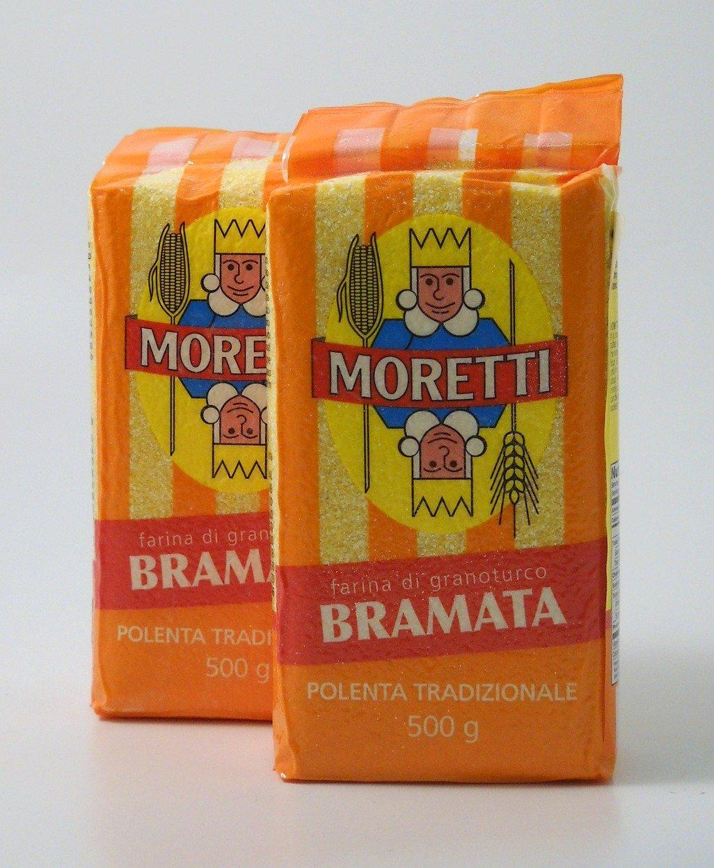 Moretti Bramata Polenta (2 bags) - 1.1 Pounds each