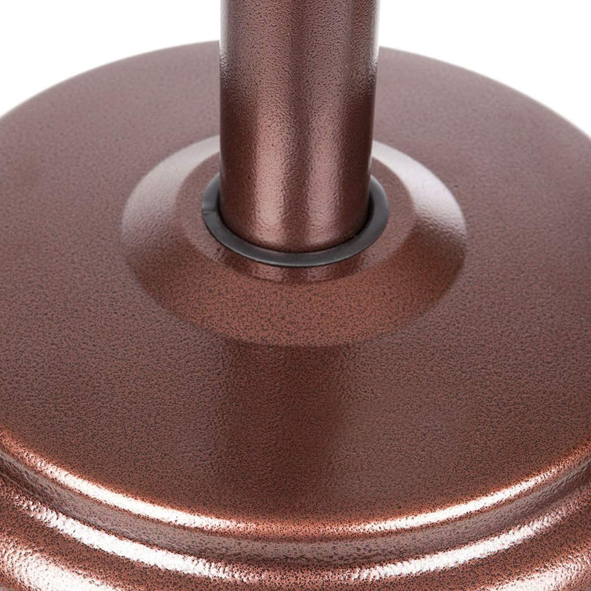 inclus housse, lest et connectique Parasol chauffant gaz 14 KW GOLD Radiateur de terrasse