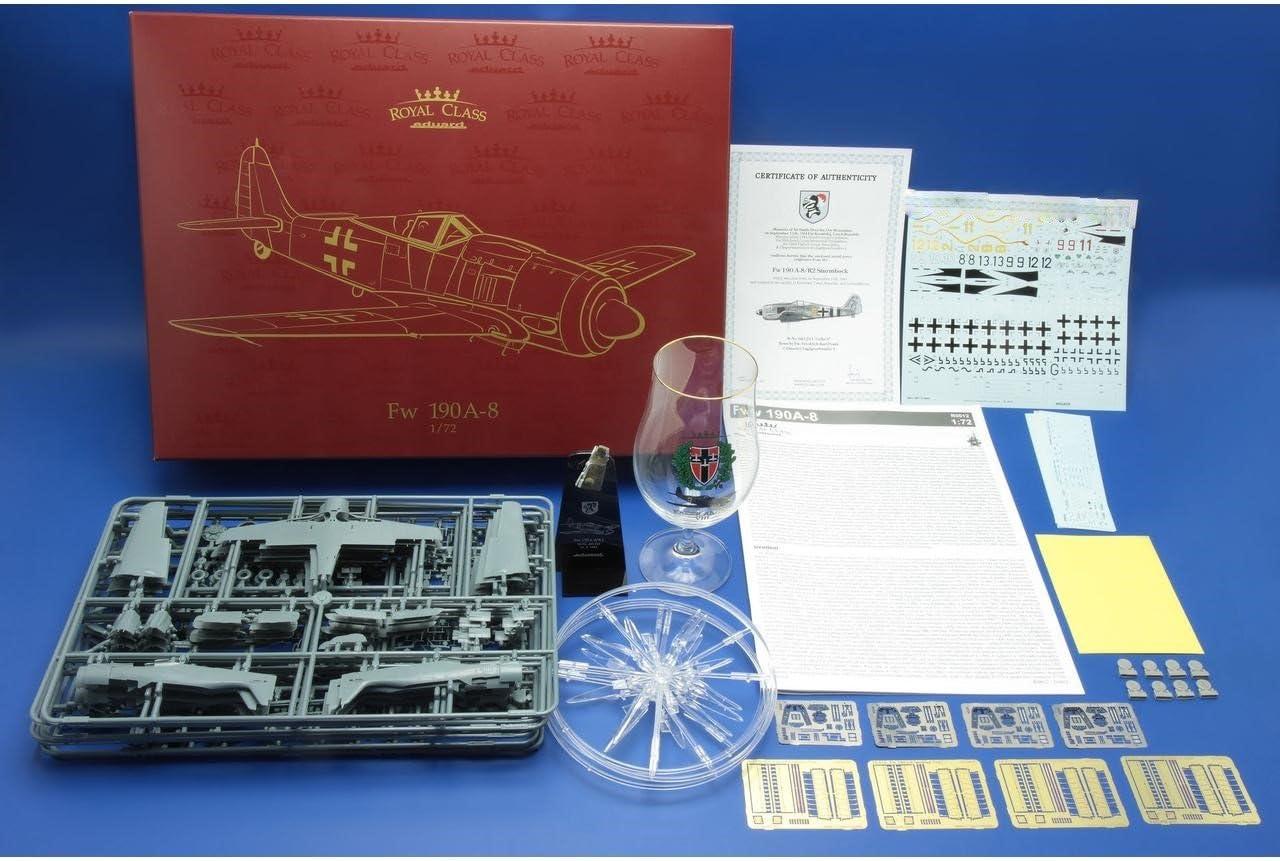 Eduard Plastic Kits R0012 Fw 190A-8 Royal class in 1:72