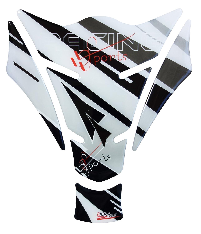 R1200GS 3d 501711 Racing Sports Grey - Protector de depósito de Universal apto para motocicleta de depósitos: Amazon.es: Coche y moto