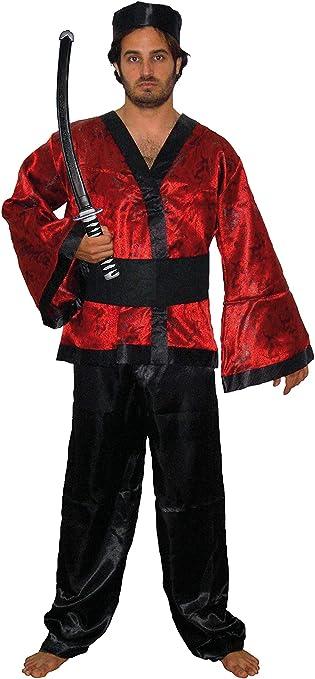 EL CARNAVAL Disfraz Samurai Adulto: Amazon.es: Productos para mascotas