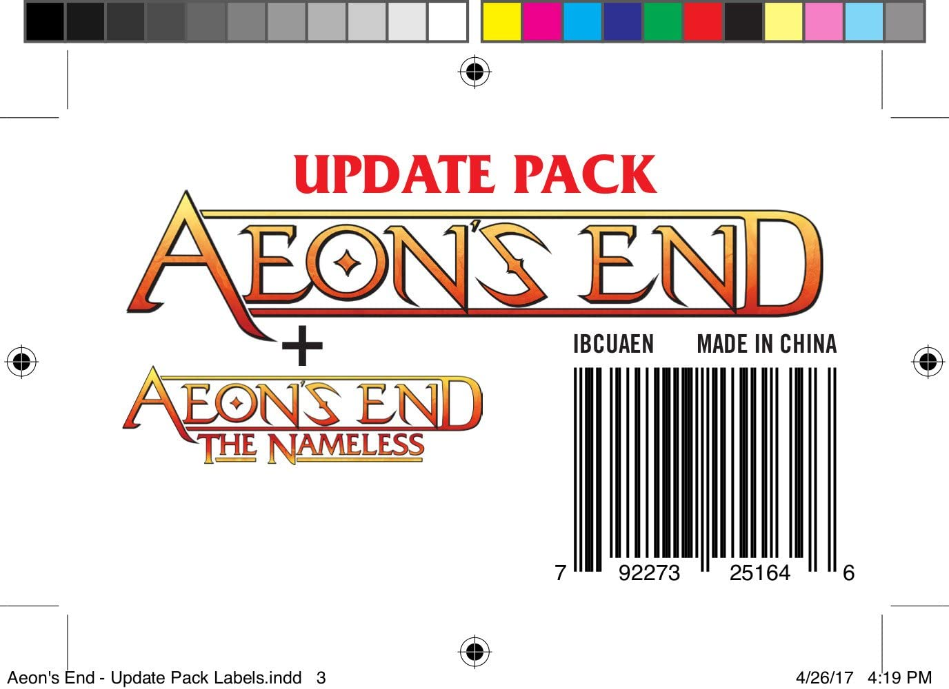 Aeons End Update Pack AE plus nameless